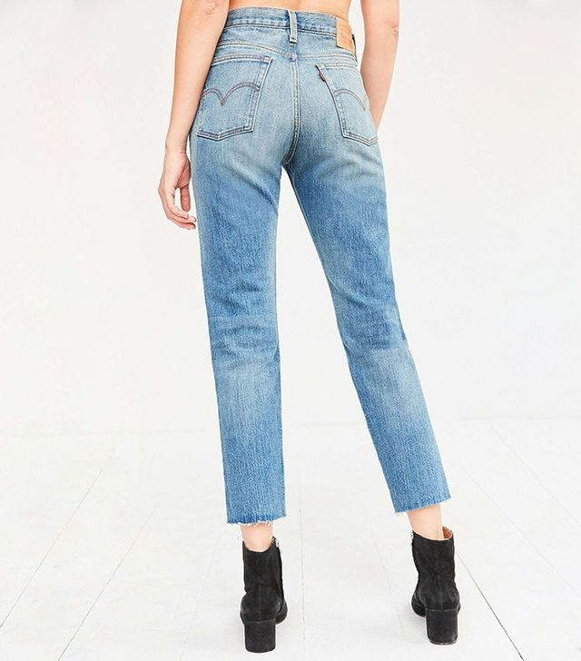 Levi's Wedgie High-Rise Jeans in Coyote Desert