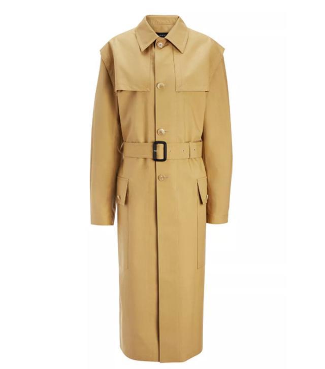 Joseph Bonded Cotton Marquee Coat