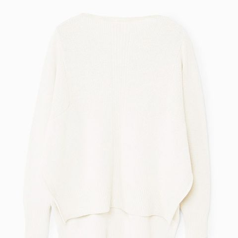Asymmetric Textured Sweater
