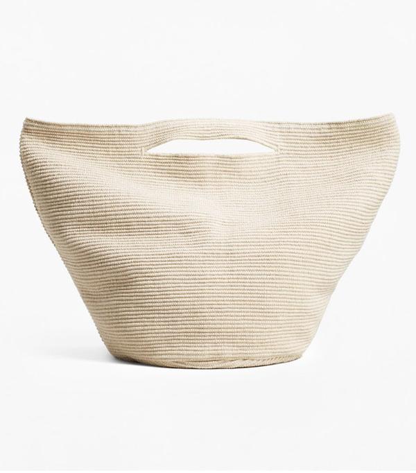Mango sustainable collection: Basket bag