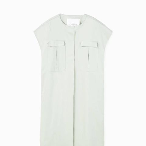 Side-Pocket Cotton Waistcoat