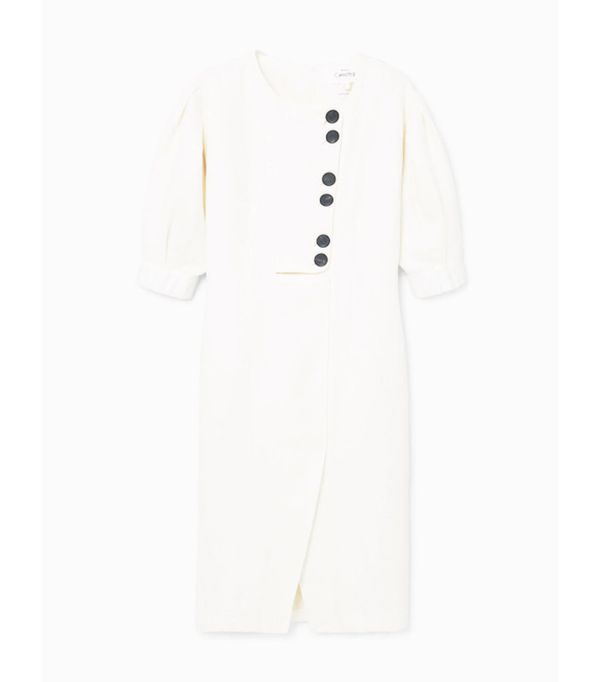 Mango sustainable collection: Linen blend dress