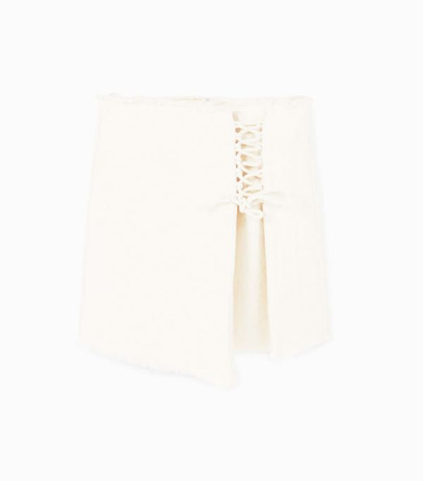 Mango sustainable collection: Cord skirt