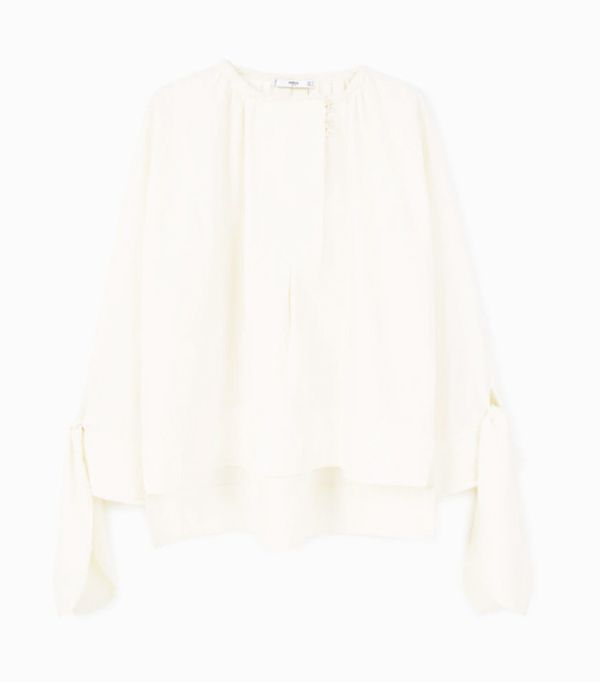 Mango sustainable collection: Organic blouse