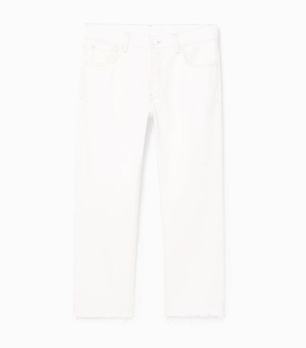 Mango sustainable collection: White jeans