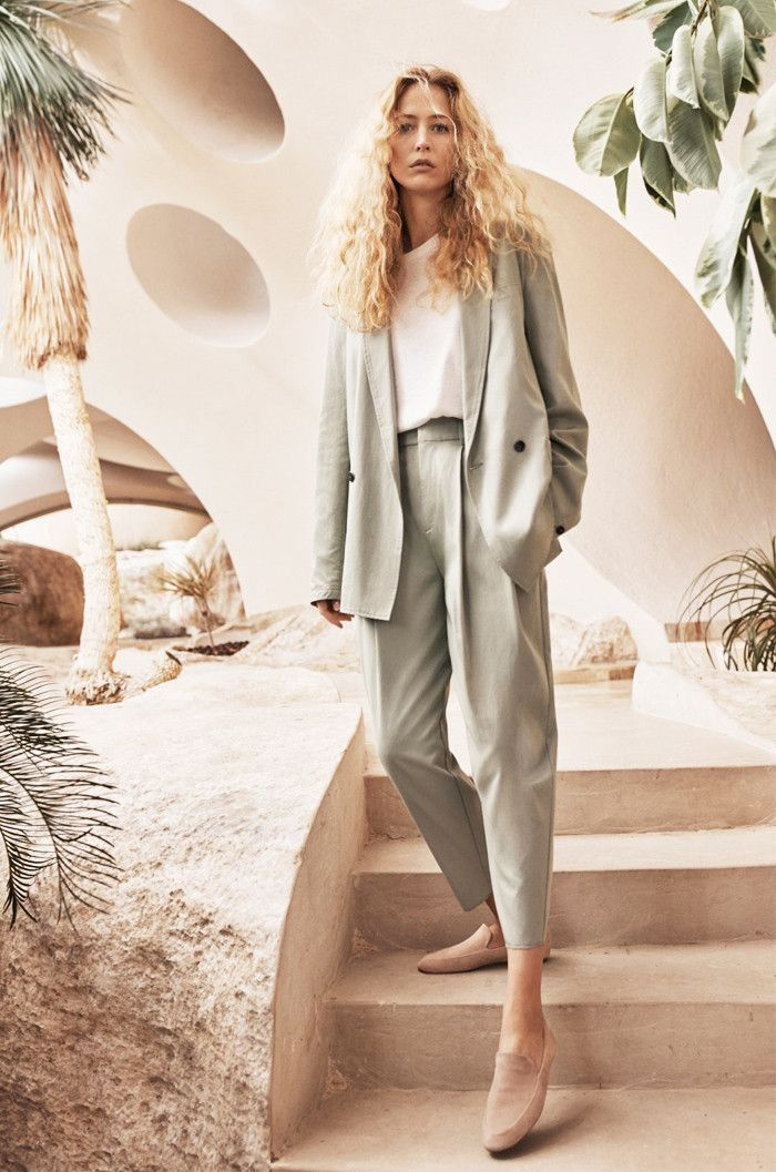 Mango Sustainable collection: Green suit