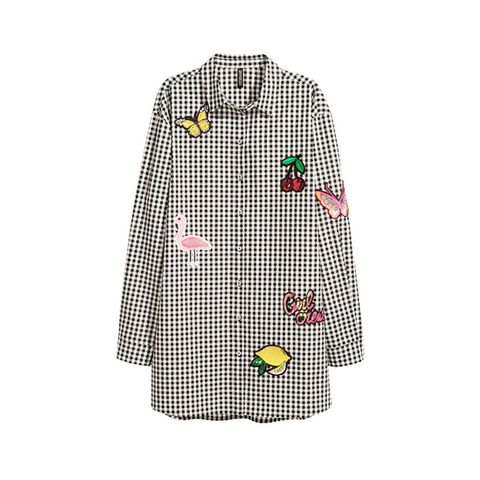 Shirt with Appliqués