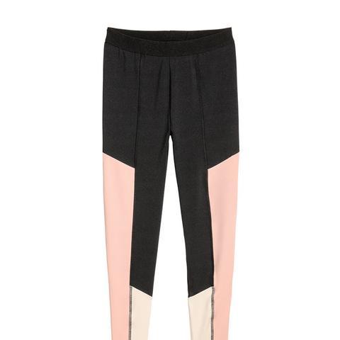 Color-Block Leggings