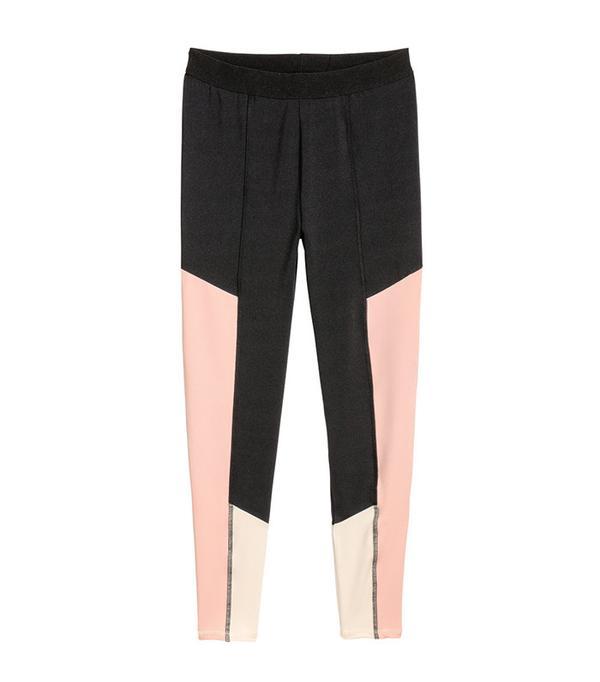 H&M+ Color-Block Leggings