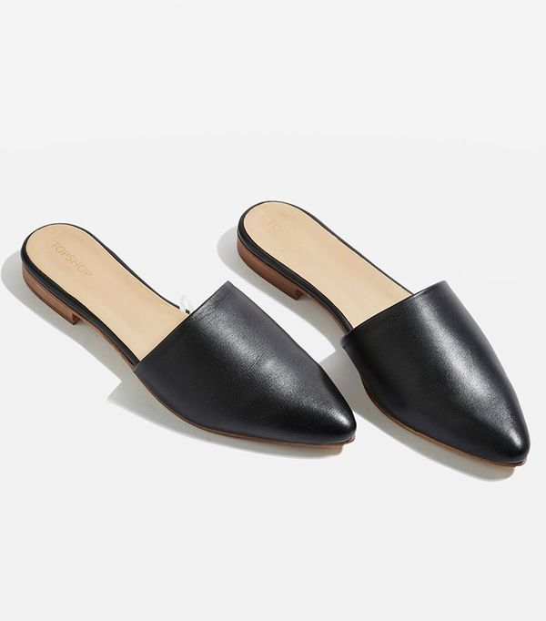 Topshop Slip On Loafers