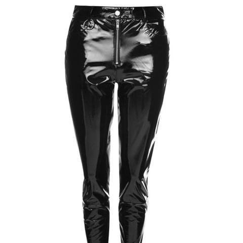 Vinyl Trousers