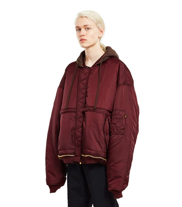 How to Wear Dr. Martens: Vetements Bomber Jacket