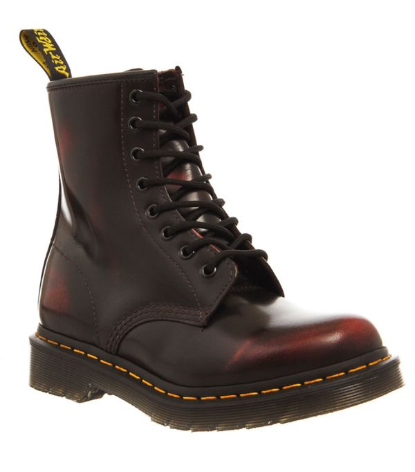 How to Wear Dr. Martens: Cherry Red Boot