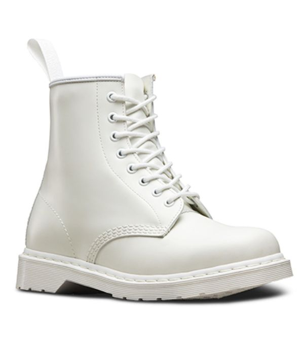How to Wear Dr. Martens: White Ankle Boots