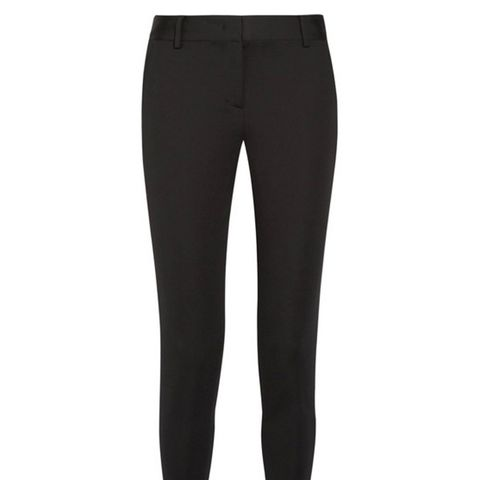 Stretch-Twill Tapered Pants