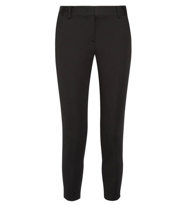 How to Wear Dr. Martens: DKNY Cropped Ankle Pant