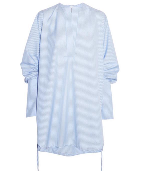 How to Wear Dr. Martens: Blue Shirt