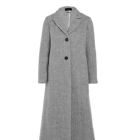 Duard Alpaca and Wool-Blend Coat