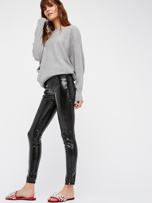 Blank NYC Patent Vegan Leather Leggings