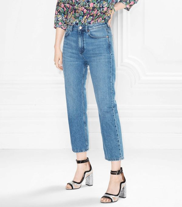 & Other Stories Flare Cropped Jeans