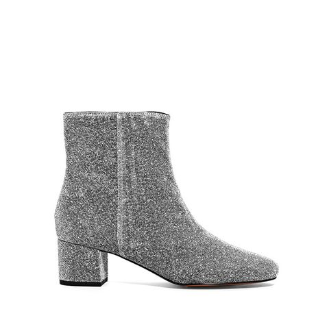 Lurex Ankle Boots