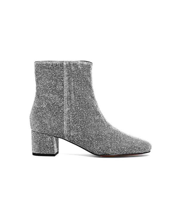 & Other Stories Lurex Ankle Boots