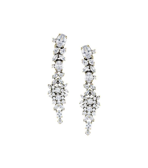 Iosselliani White Eclipse Memento'Earrings