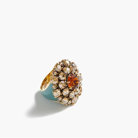 Crystal Burst Ring