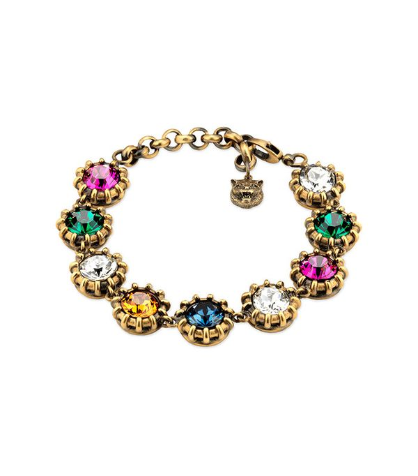 Gucci Bracelet with Crystals