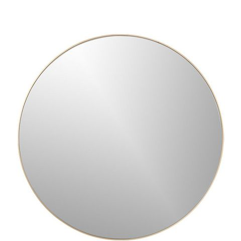 Infinity Round Brass Wall Mirror
