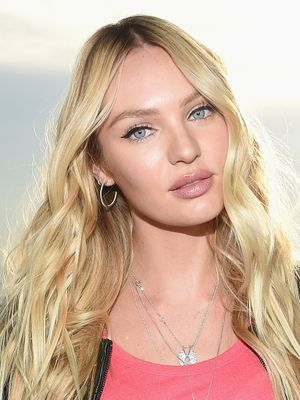 Candice Swanepoel Does This One Thing Before Applying Her Foundation