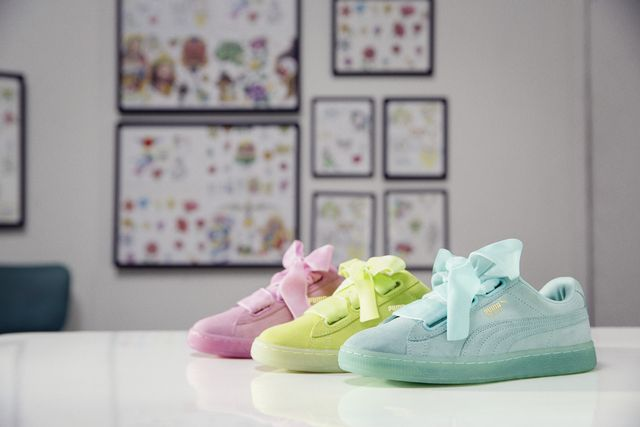 Puma Suede Heart Reset Sneakers