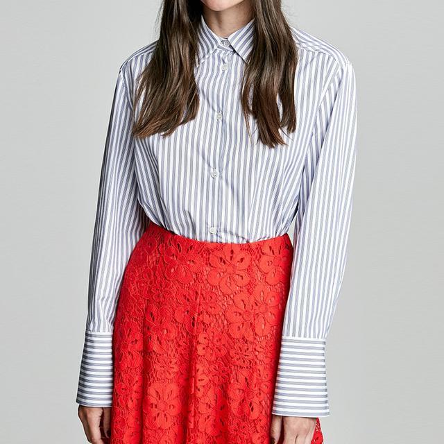 Scanlan Theodore Striped Shirt