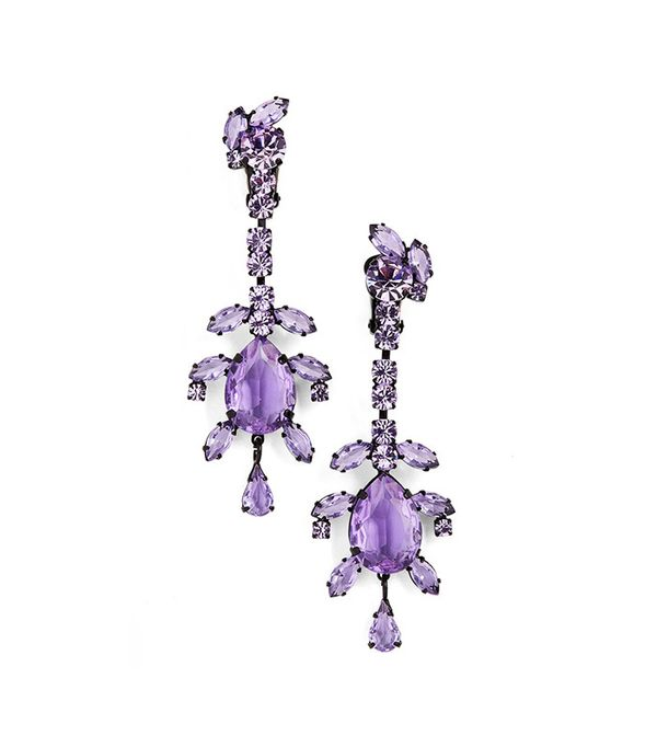 Ashley Williams Crystal Drop Earrings