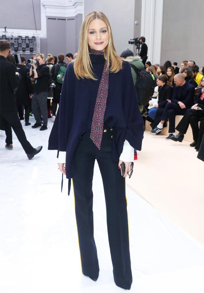Olivia Palermo wearing chloe flares