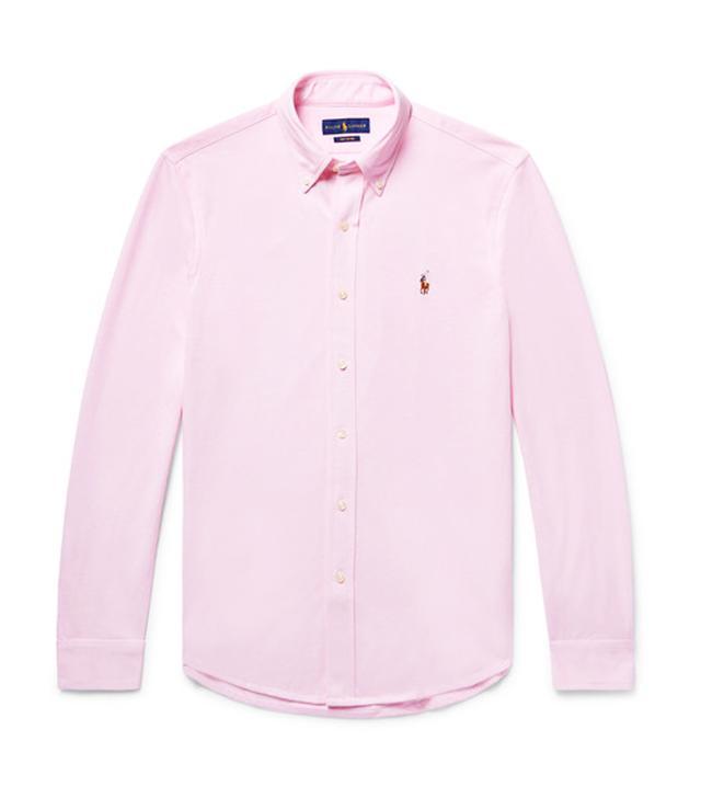Polo Ralph Lauren pink shirt