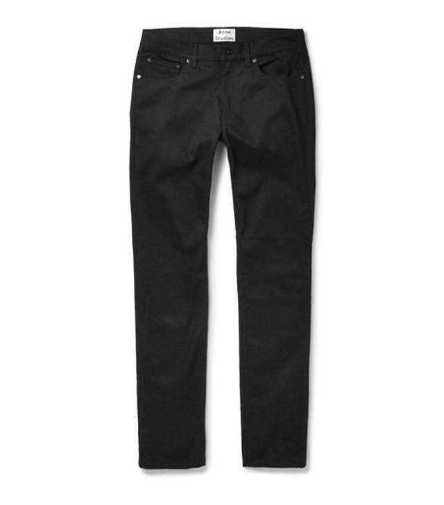 Best menswear for women: Acne jeans