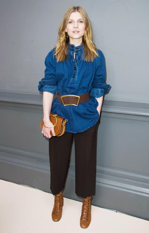 Paris Fashion Week front row February 2017: Chloe Sevingny at Chloe