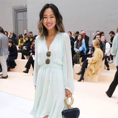 Paris Fashion Week front row February 2017: Aimee Song at Chloe