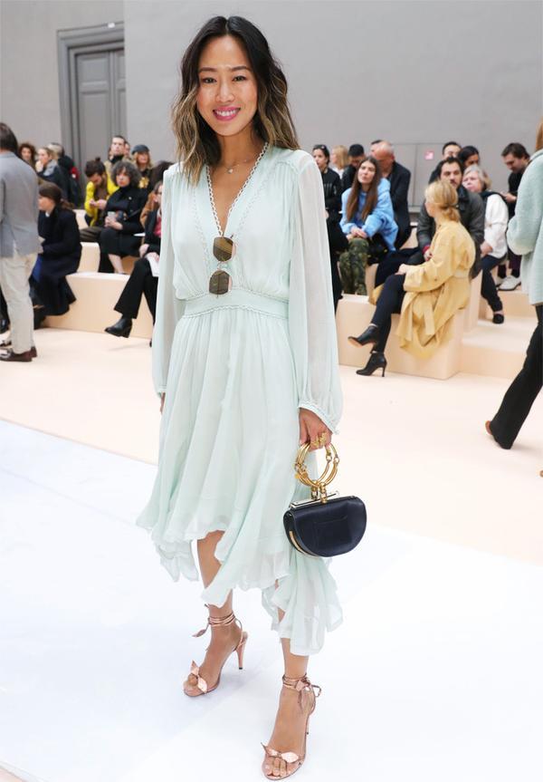 Paris Fashion Week front row February 2017: Aimee Song at Chloe