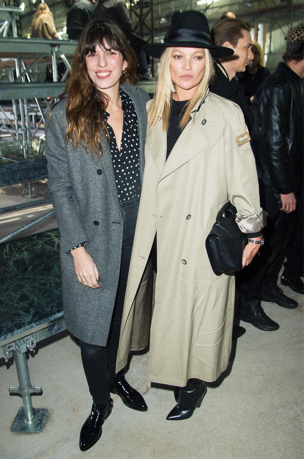 Paris Fashion Week front row February 2017: Kate Moss at Chloe