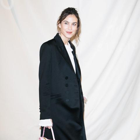 Paris Fashion Week front row February 2017: Alexa Chung H&M