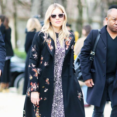 Paris Fashion Week front row February 2017: Sienna Miller at Dior