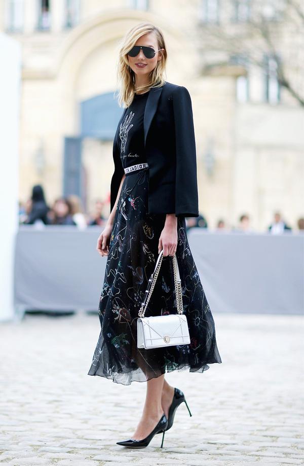 Paris Fashion Week front row February 2017: Karlie Kloss at Dior