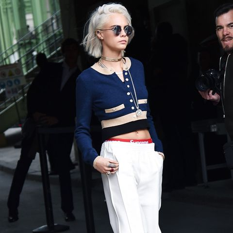 Paris Fashion Week front row February 2017: Cara Delevingne at Chanel
