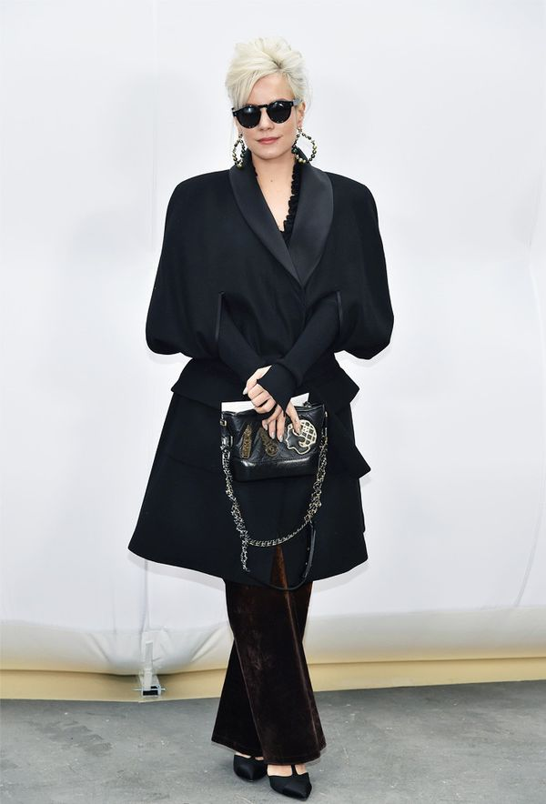 Paris Fashion Week front row February 2017: Lily Allen at Chanel