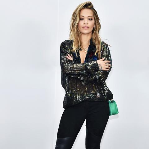 Paris Fashion Week front row February 2017: Rita Ora at Chanel