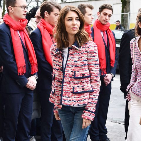 Paris Fashion Week front row February 2017: Sofia Coppola at Chanel