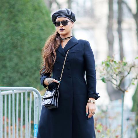Paris Fashion Week front row February 2017: Rihanna at Dior