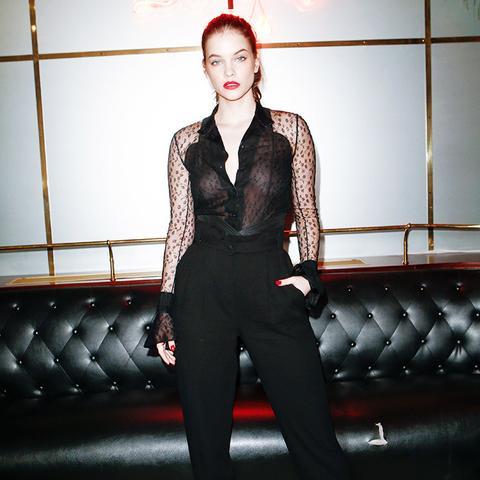 Paris Fashion Week front row February 2017: Barbara Palvin